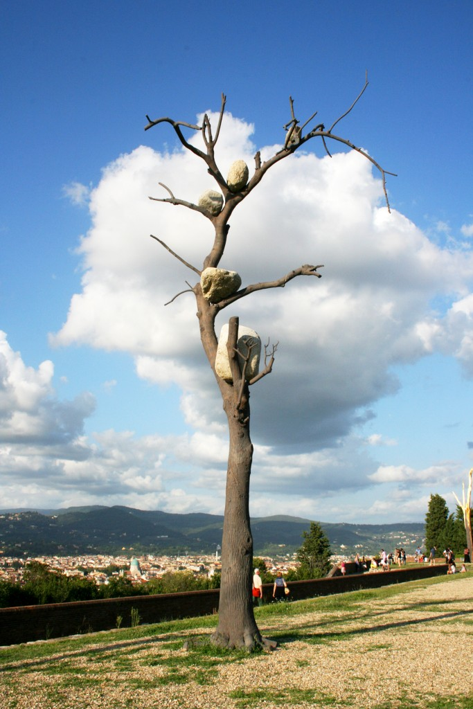 Giuseppe Penone Florence tree exhibit
