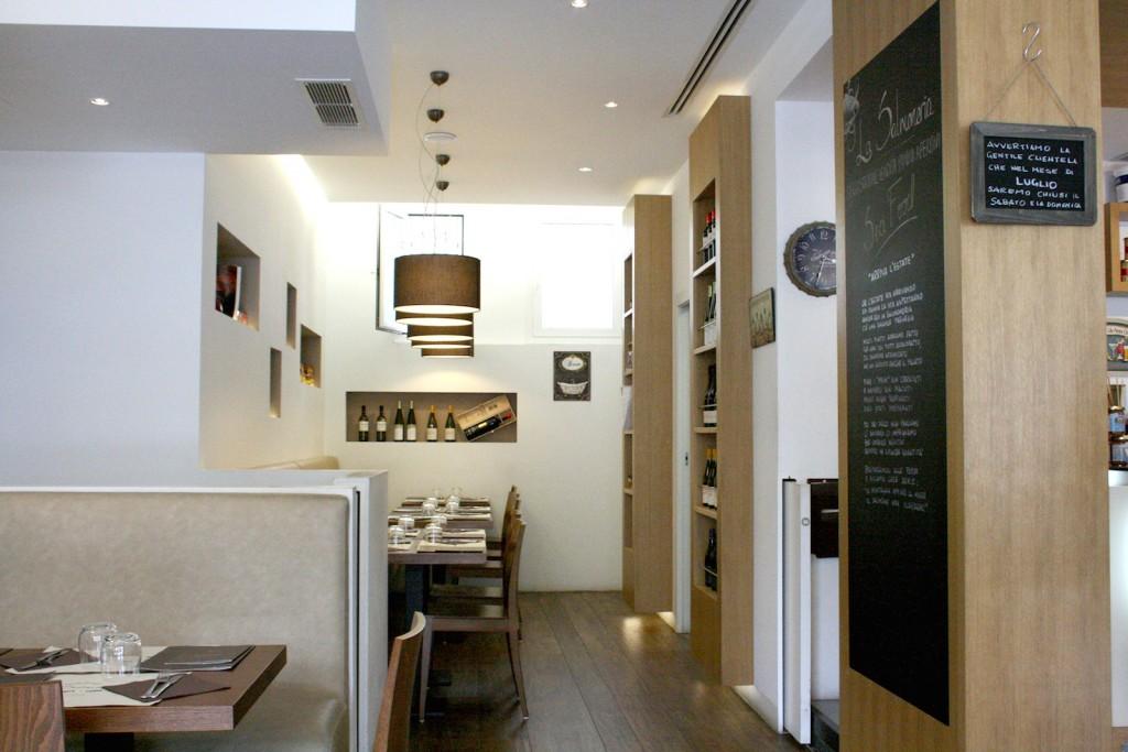 La Salmoneria Florence restaurant