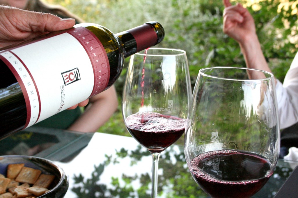 Sassotondo wine in Maremma