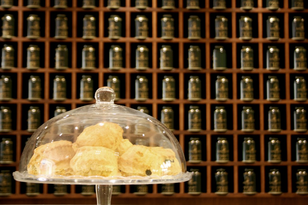 Scones and tea time in Florence Tuscany