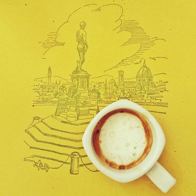 Coffee and the Duomo in Florence