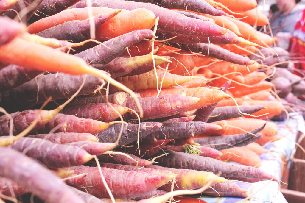 Carrots at Ballard Farmers Markte, Seattle