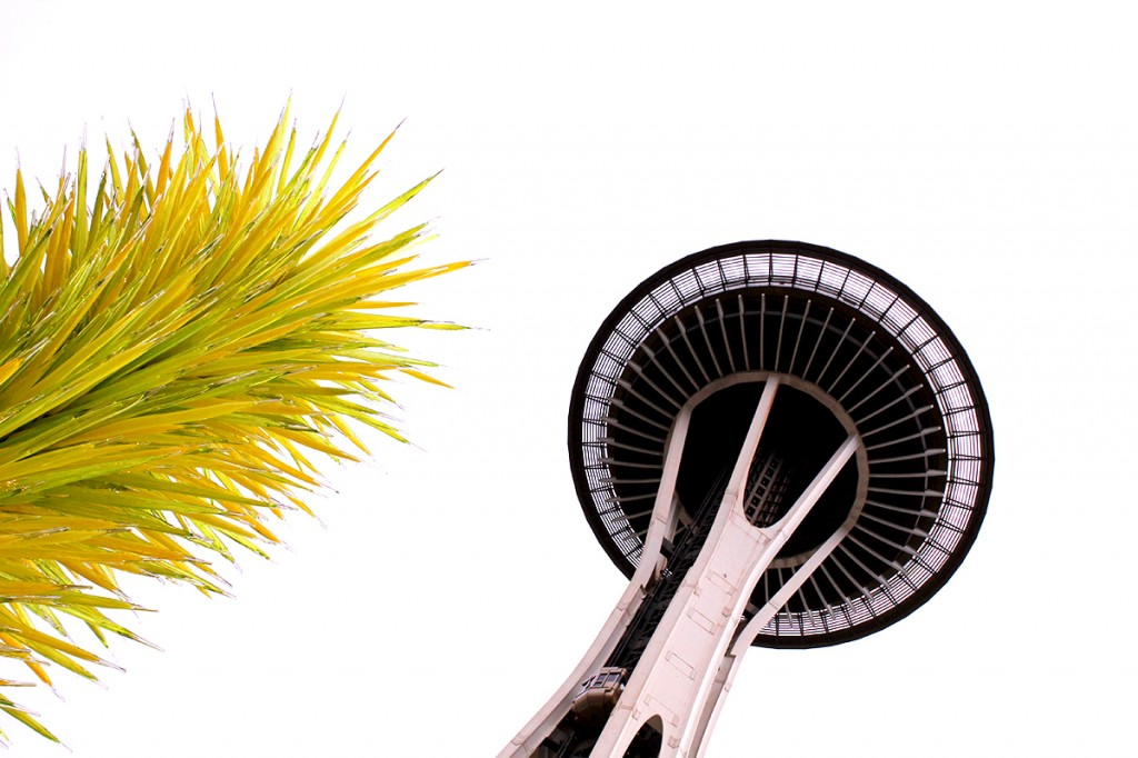 Chihuly exhibit under the Space Needle 2