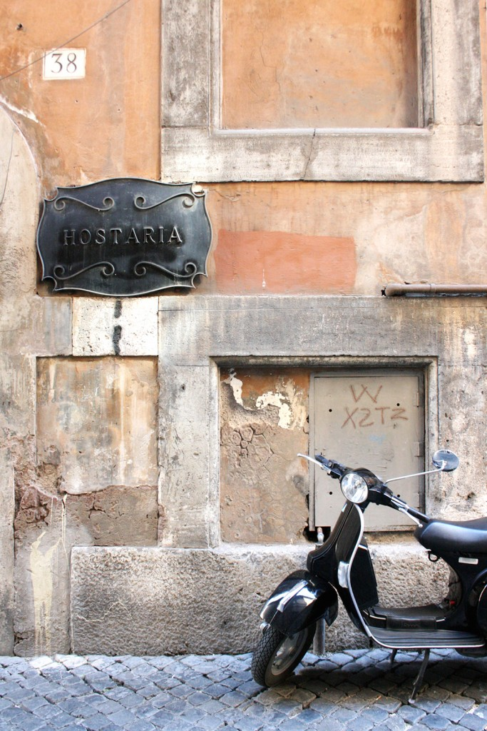 Jewish Ghetto in Rome Italy