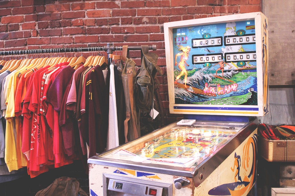 Lucky vintage store in Seattle