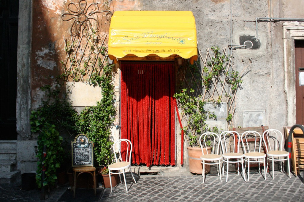 Sora Margherita restaurant in Jewish Ghetto