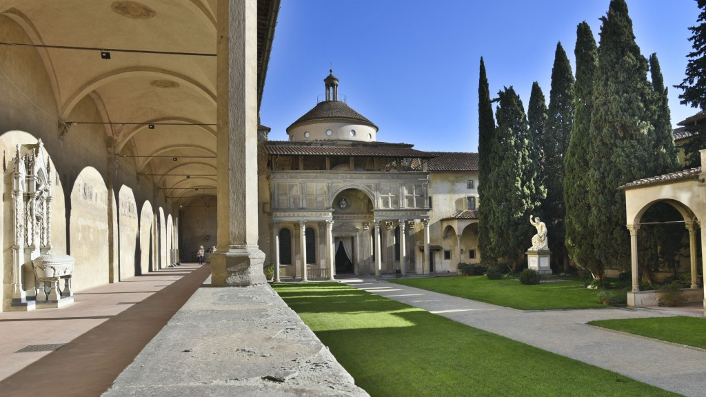 Restore Pazzi Chapel in Florence