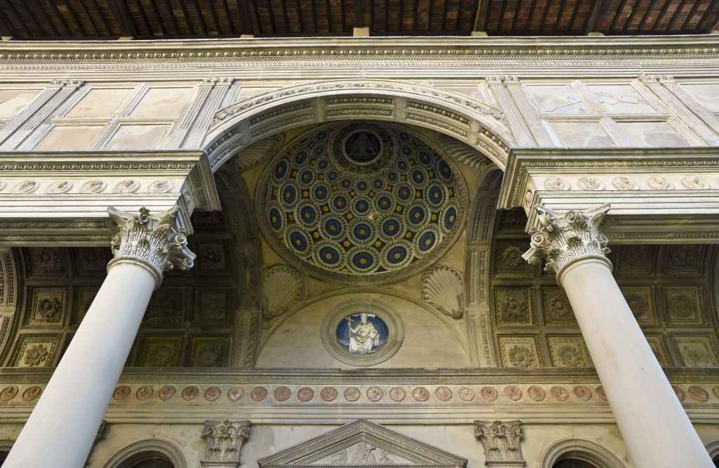 Pazzi Chapel Loggia in Florence