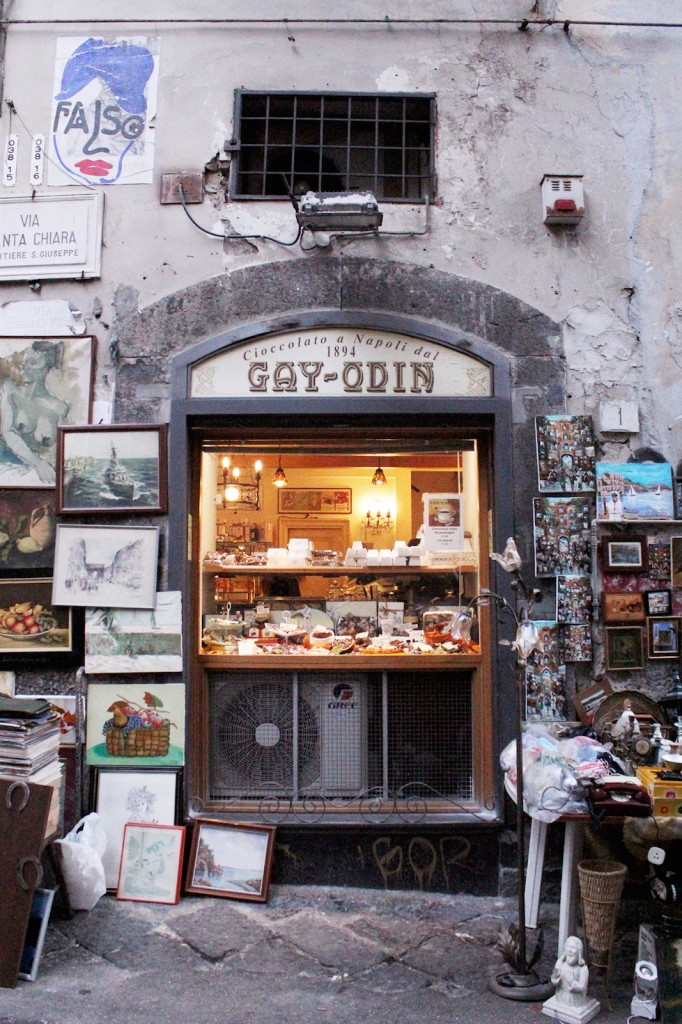 Naples Gay Odin chocolate shop