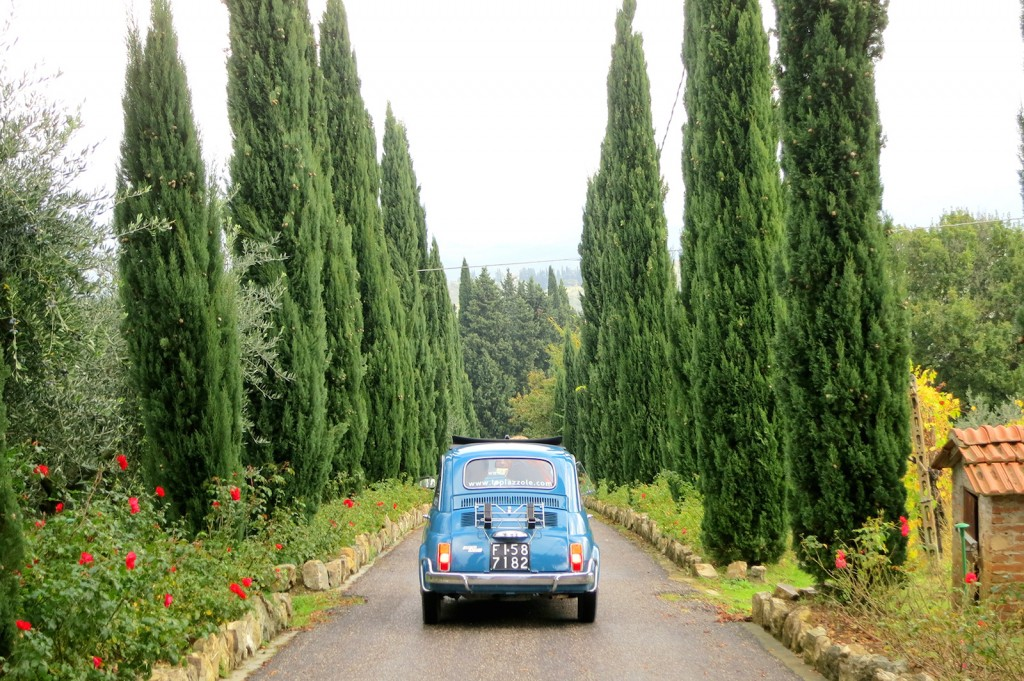 About Tuscany: Driving a vintage Fiat 500 in Chianti