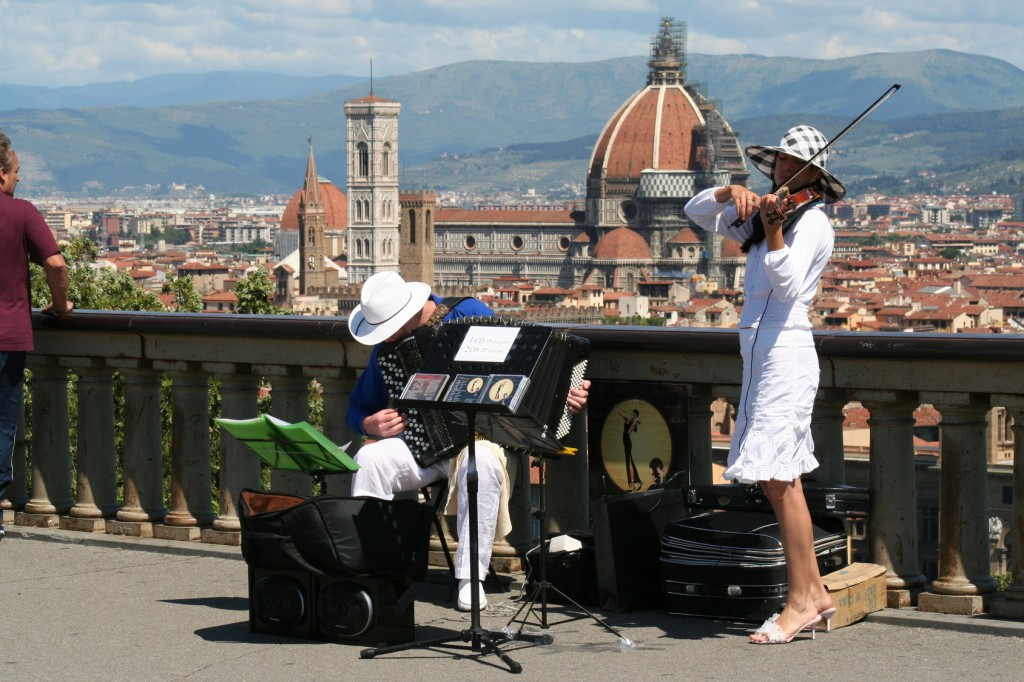 Musicisti da strada fiorentini MaMoX