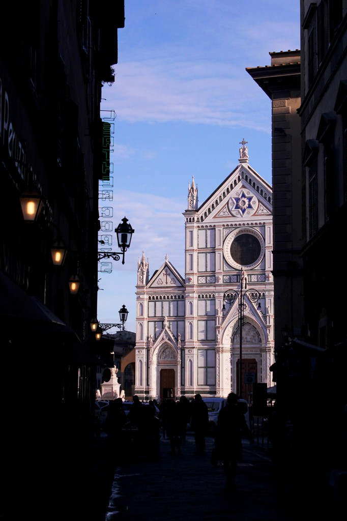About Tuscany: Santa Croce in Florence