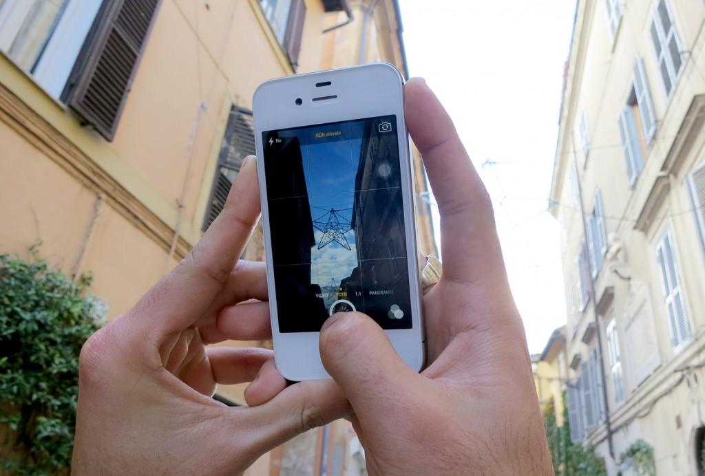 Instgramming in Rome