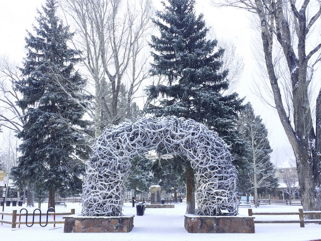 Town Square in Jackson Hole Wyoming
