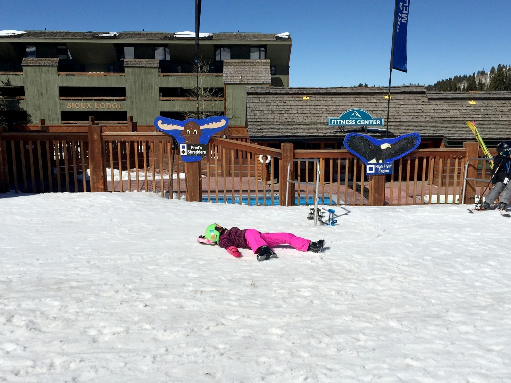 What To Do in Targhee, take a nap!