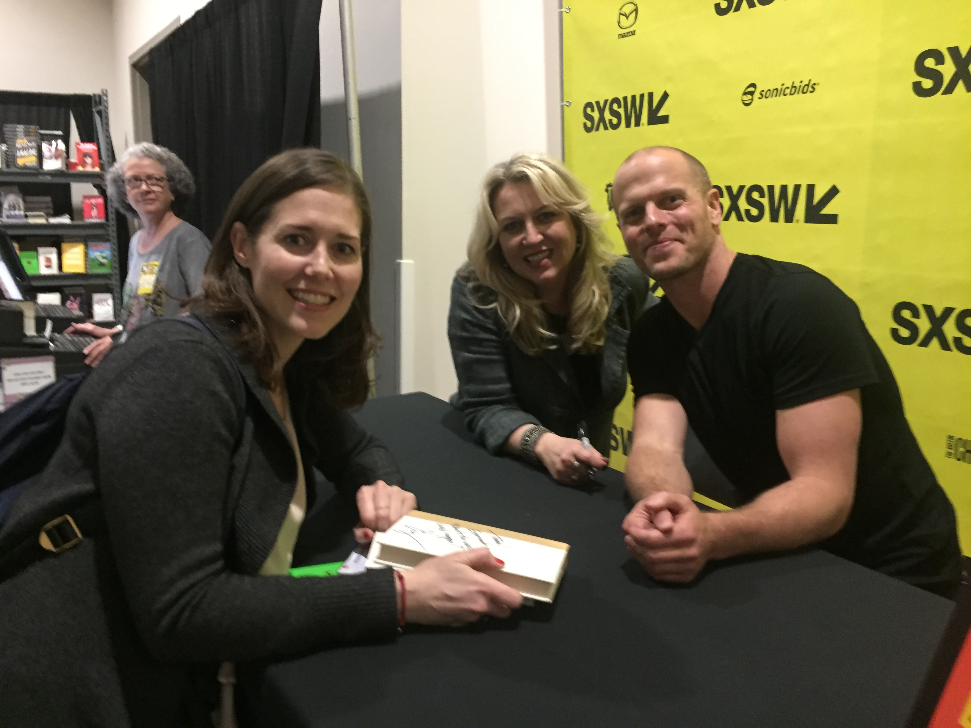 Book signing with Tim Ferris and Cheryl Strayed at SXSW