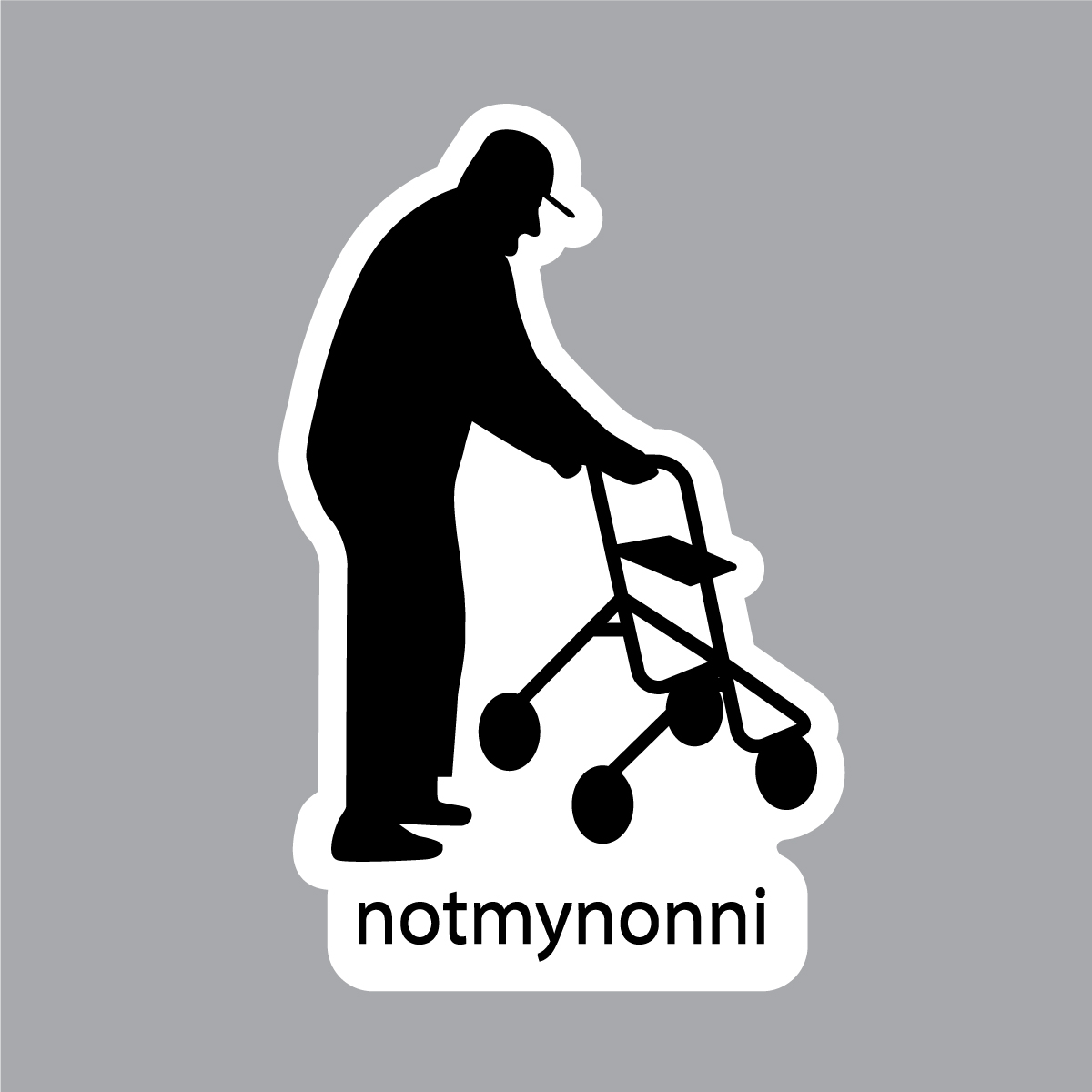 Notmynonni Sticker