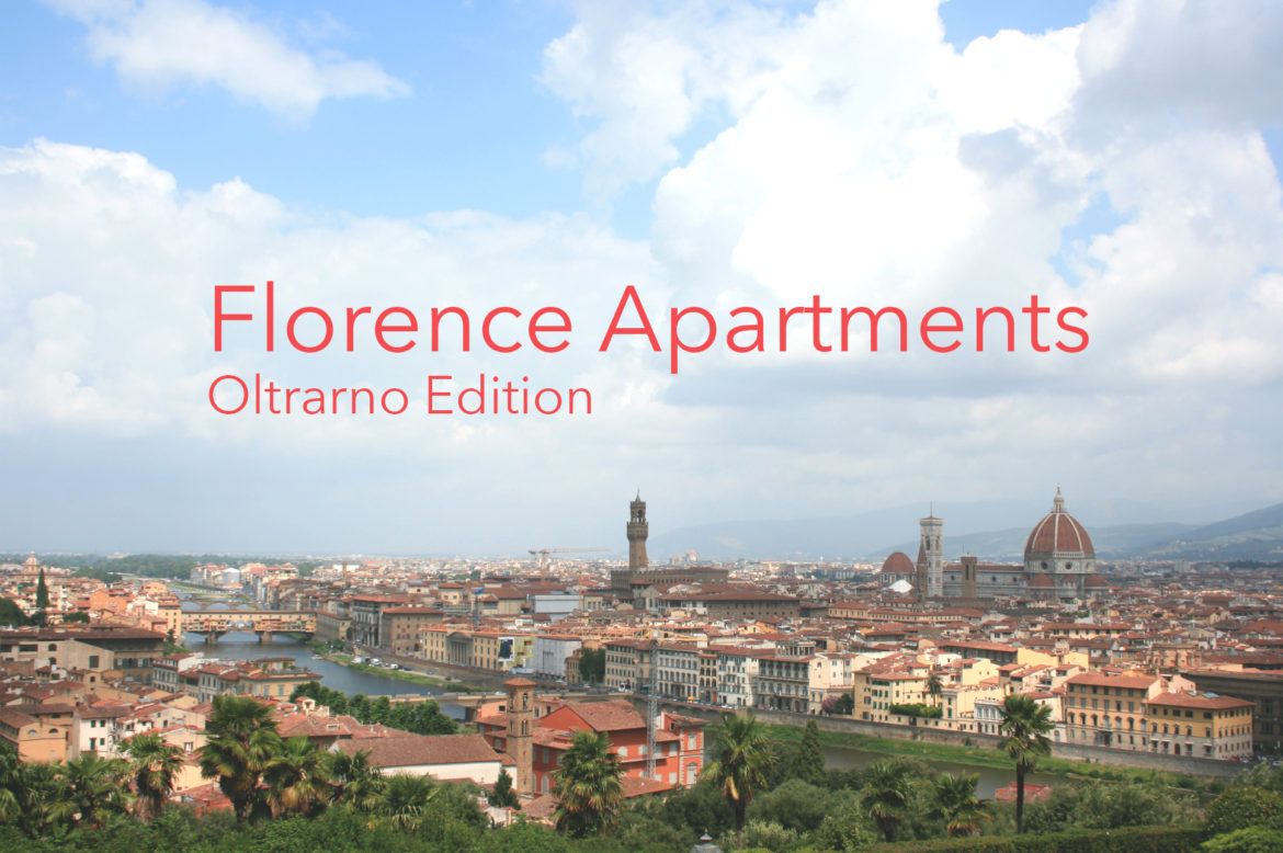 Florence apartments in Oltrarno