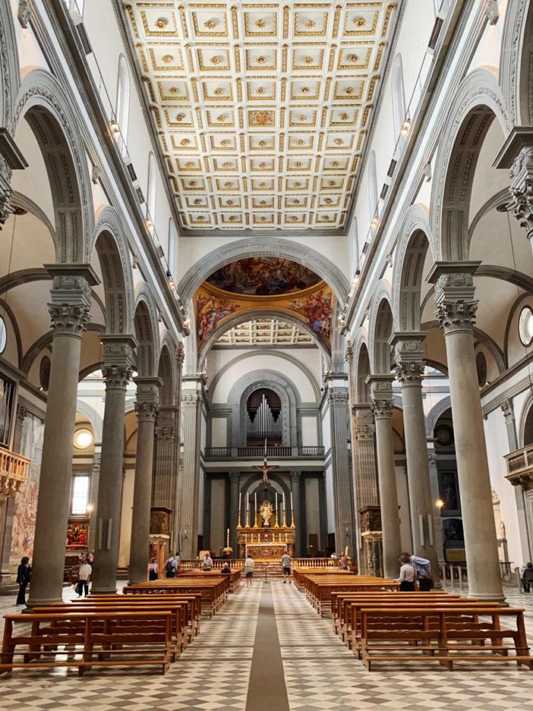 Church of San Lorenzo Florence Italy