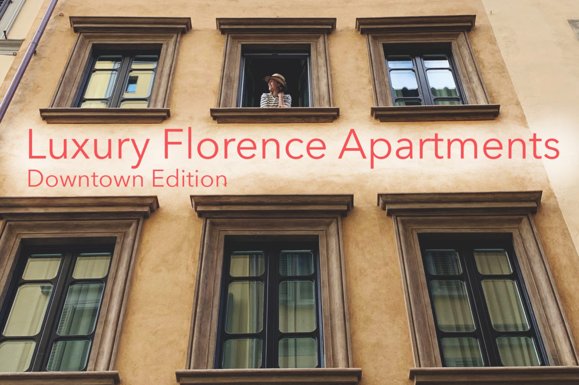 Luxury downtown apartments in Florence Italy