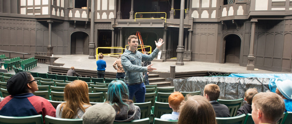 Backstage Tour of The Oregon Shakespeare Festival OSF